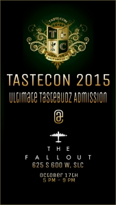 Ultimate Tastebudz - TasteCon Tickets